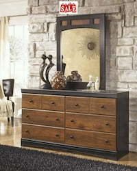 Design Dark Brown Dresser   Houston, 77066