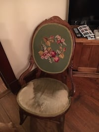 Embroidered rocking chair Upperville, 20184
