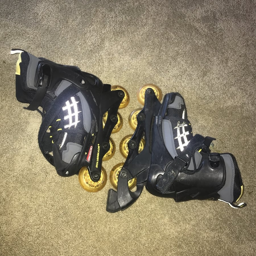 Roller blades. Used.