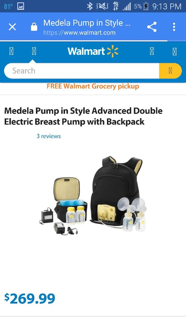 Used Medela Double Breast Pump For Sale In Socorro Letgo