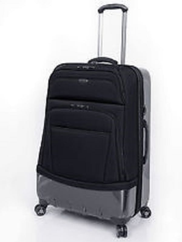 """Luggage $250 Expandable Checked Ricardo Beverly Hills Wilshire 28"""" new 040a6cdd-298e-445f-8ca8-62bb9af29c3e"""