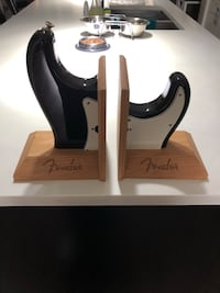 Fender strat book ends-30$ obo Calgary, T2A 0M7