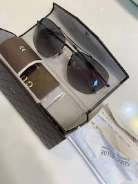 Authentic Gucci Sunglasses w/Leather Gucci Sunglass Case Gaithersburg, 20878