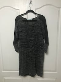 Grey and Black Dress Vaughan