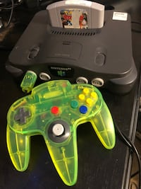 Nintendo 64 system w/ cables, controller and 1 game Springfield, 22153