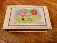 Travel Music Box- Mary had a little lamb  Burke, 22015