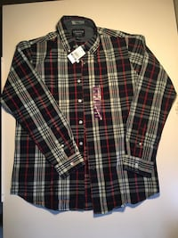 New Men's Flannel Shirt -Size M Pine Brook, 07058