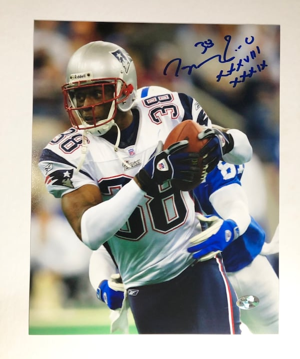 Ty Poole New England Patriots Autographed 8x10 Photo w/ COA 4520b1ae-ecce-4263-b5f5-9864afdc1834