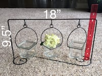 Metal glass decor floral and other  Spencerville, 46788