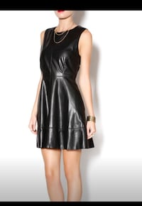 Willow and Clay Faux Leather Dress Lexington