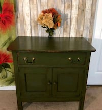 brown wooden 2-door cabinet Virginia Beach, 23462