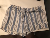 White and blue striped shorts Naperville, 60563