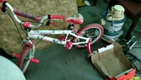 Girls Pink & White Bicycle Lincoln, 68507