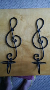 A pair of Music candle sconces Baltimore, 21224