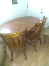 Kitchen table and chairs Oakwood Norfolk, 23503