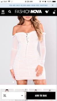 Fashion Nova dress  Coquitlam, V3K 4Z4