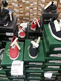 assorted sneakers and boxes Ontario, M6M 2Y4