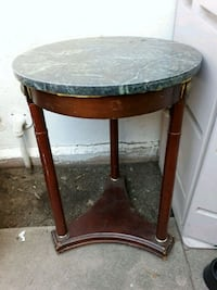 Small Round Marble Table Santa Ana
