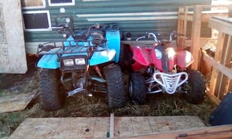 Selling part's-quad's ,or fixer upper's