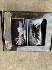 set of two unopened marylin monroe glasses Sunnyvale, 94086