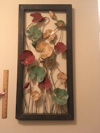 Wall decor - metal flower photo