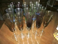 Multi-colored Champagne Glasses Baltimore, 21229