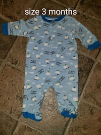 baby's blue and white footie pajama Shippensburg, 17257