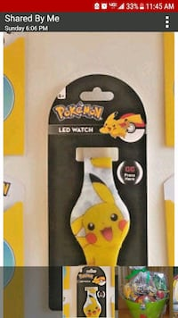 New Pokemon Pikachu Led Watch Scranton, 18504