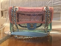 Chanel PVC Transparent Flap Bag Toronto