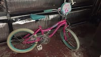 toddler's pink and green bicycle Livermore, 94551