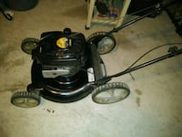 black and gray push mower Del Valle, 78617