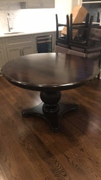 "Solid wood 50"" kitchen table from Arhaus 22 mi"