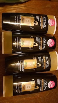four assorted Loreal bottles Lakeville, 14480