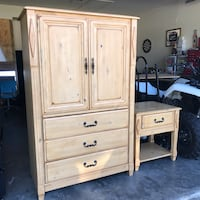 Matching Armoire + End Table Fort Myers, 33967