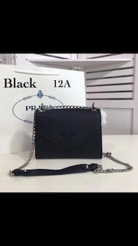 black and white leather crossbody bag 3019 km