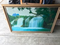 Picture frame with live waterfall and birds sound Redondo Beach, 90278