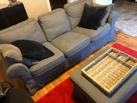 IKEA Ektorp Couch and Ottoman Surrey, V3S 2H9
