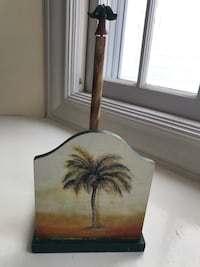 Paper towel holder - Palm tree design