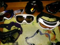 Assortment of goggles sold separately 2185 mi