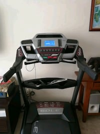 black and gray automatic treadmill Singapore, 648355