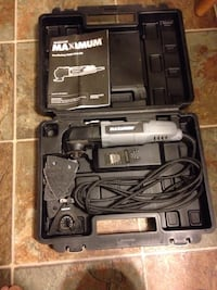 Maximum corded oscillating tool in great condition no longer using as I bought a cordless !  Grande Prairie, T8V 3Z6