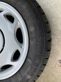 Michelin X M+S330 winter tires one set