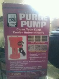 Purge pump PoWER CLEAN Tucson