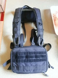 Custom military style chest carry bag and harness. Surrey, V3R 5B6