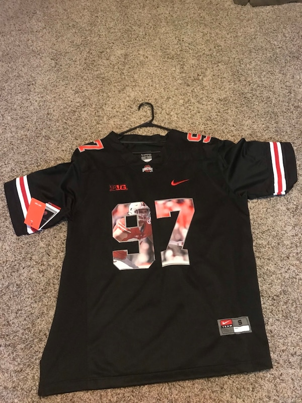 the best attitude 5d8c4 819d3 Black Ohio State jersey