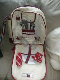 Thermos backpack with cutlery $40 obo Cambridge, N1T 1K9