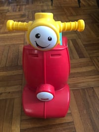 Toddler's red and blue ride on toy Toronto, M4B 2E9