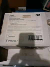 7800s full face respirator and box of filters Arlington, 22204