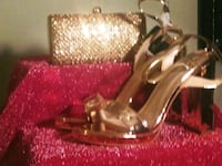 Matching bag and shoe-gold Cheverly, 20785