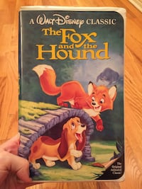 A walt disney classic the fox and the hound vhs